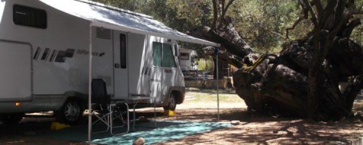 Sosta camper a Palinuro – Campeggio sul mare
