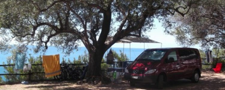 Campsites in Palinuro in the Cilento – Italy